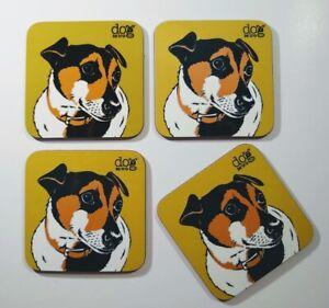 Jack Russell set of 4 coasters
