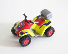 PLAYMOBIL (S225) RACING - Quad Jaune & Rouge à Friction Rallye Désert Foret 4425