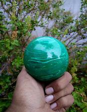 "Large 2"" Green Malachite Crystal Chakra Healing Reiki Power Aura Sphere Ball"