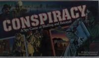 Vintage Conspiracy Board Game, Milton Bradley, Complete