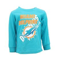 Miami Dolphins Official NFL Infant & Toddler Size Long Sleeve Shirt New Tags