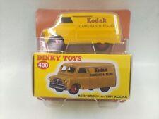 DINKY TOYS 1:43   480  BEDFORD  10  CWT  VAN   KODAK  MATTEL  CAR  MODEL