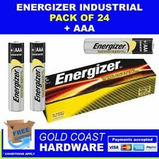 ENERGIZER INDUSTRIAL BATTERIES AAA 24 PACK