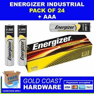 ENERGIZER INDUSTRIAL BATTERIES AAA 24 PACK