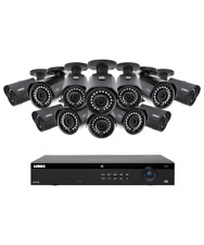 Lorex 16 Channel 4K 4MP IP Security System with NR9163 NVR and 12 4MP LNB4421...