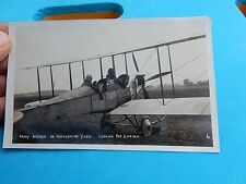 EARLY AVIATION   --  ANTIQUE POSTCARD YORK