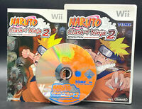 "NINTENDO WII SPIEL"" NARUTO CLASH OF THE NINJA 2 Revolution "" KOMPLETT"