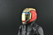 "1/6 Motorcycle Motorbike Helmet Mask Cover Model in Red For 12"" Action Figure"