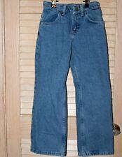 Size 8 Boys Regular Blue Jeans by Rustler Adjustable Waist