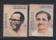 INDIA Oliver R Tambo & Deendayal Upadhyaya JOINT ISSUE WITH SOUTH AFRICA MNH set