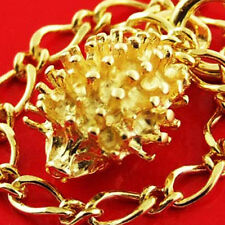 Charm Bracelet Cuff Bangle Real 14kt Yellow Gold Solid Ant Eater Design