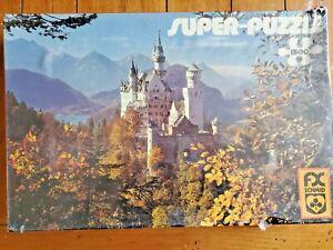FX Schmid  Castle Neuschwanstein 1500 Piece Jigsaw Puzzle 98420 Sealed