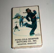 NEW   #2 NEVER OPENED PEPSI COLA DECK OF PLAYING CARDS (COCA COLA, COKE, PEPSI)