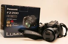Panasonic LUMIX DMC-FZ200 12.1 MP Digital Camera - Black