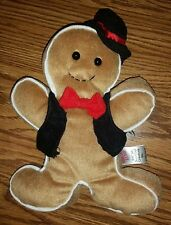 Sugar Loaf Creations Christmas Gingerbread Man Cookie Stuffed Animal Plush Toy