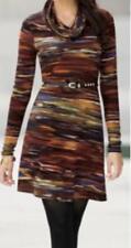 Women's Winter Fall Work Day Casual Carrier stripTunic Dress no belt plus size2X