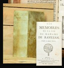 1680 Erotica Filles de joie de Paris 2 in 1 Bussy-Rabutin Amours des dames