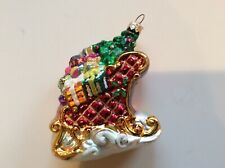 Christopher Radko Packages Galore 00-1284-0 Sleigh With Tree & Gifts