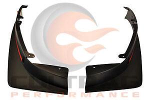 2012 2013 Camaro Genuine GM ZL1 Rear Splash Guards Mud Flaps 22895336 22895337