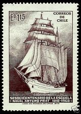 CHILE, CHILEAN NAVAL ESMERALDA TRAINING SHIP, MNH, YEAR 1972