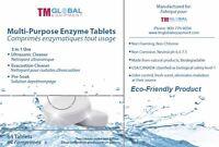 64 Tablets ULTRASONIC ENZYME / Enzymatic TABLET 3 in 1 Evacuation, pre-soak