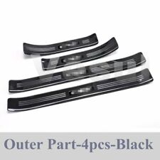Fit For Honda CR-V CRV 17-19 OUTER Door Sill Scuff Plate Guard Door Entry Pad