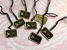 CORO Original Hang Tags (set of ten),vintage Coro tags,designer tags NOS