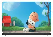 15,6 pollici snoopy-laptop Vinile Pelle / decalcomania / adesivo / cover-somestuff247-lc017