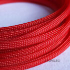 5M TIGHT Braided PET Expandable Sleeving Cable Wire Sheath Mesh Loom 2-16mm Wide
