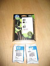New Retail Genuine HP 61 2 Ink Cartridge 1000 1010 1050 1051 3000 4500 4630 5530