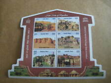 2018 India MS on UNESCO World Heritage Site (Hill Forts of Rajasthan) - MNH