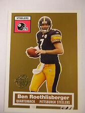 2005 Topps Turn Back the Clock Ben Roethlisberger  #11  Steelers