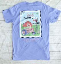 "NWT Simply Southern ""Farm Girl"" Women's Sz. Small Short Sleeve T-Shirt"