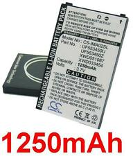 Batterie 1250mAh type UF553450U UF553450Z XWD033454 XWD051087 Pour Dopod Pean