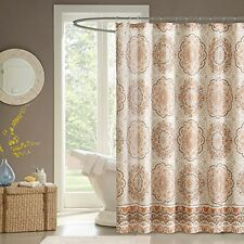 Madison Park MP70-1491 100% Polyester Microfiber Printed Shower Curtain NEW