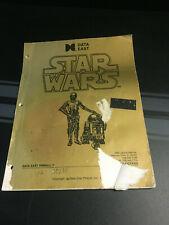 Data East Star Wars Pinball Machine Manual Schematics