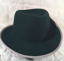362706bc7ad Wool Blend Fedora Solid Hats for Men