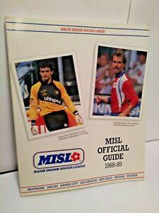 1988-1989 MISL Soccer Official Guide MM 127