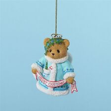 Cherished Teddies 'Wishing You A Heavenly Holiday' 2012 Bell Ornament 4023641