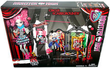 Monster High Circus Scaregrounds Playset Freak Du Chic W/ Rochelle Goyle Doll!