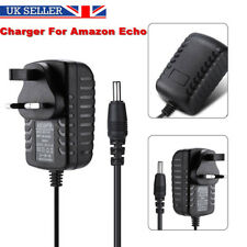 Replacement DC15V Power Supply Adapter Charger UK Plug for Amazon ECHO Fire TV