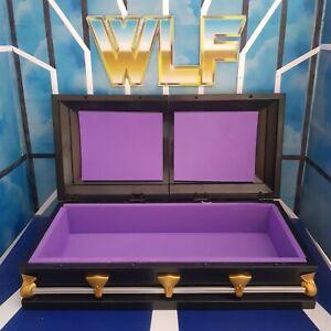 Casket (Black/Purple) - RSC - Accessories for WWE Wrestling Figures