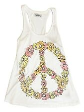 Lauren Moshi Nancy Tank Peace Daisy white