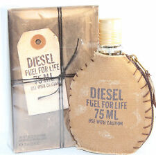 DIESEL FUEL FOR LIFE BY DIESEL 2.5 OZ EDT SPRAY FOR MEN NEW IN BOX