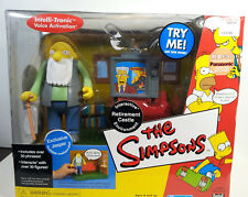 World of Simpsons Retirement Castle Environment with Jasper WOS Exclusive Figure