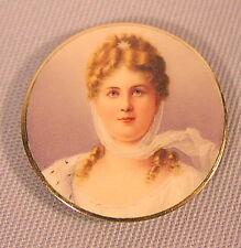 Rare alte Miniatur Königin Luise Preussen feine Qualität 19 Jahrhundert