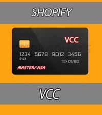 5 VCC Shopify Seller Verification Virtual Card 🔥Fast Delivery🔥