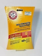 Dirt Devil Odor Eliminating - Allergist Recommended Vacuum Bags - Type U