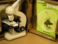 Microscopio Professionale Olympus 300X Made in Japan