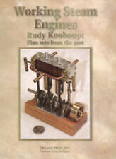 Working Steam Engines: Plan Sets by Rudy Kouhoupt/model engineering/steam